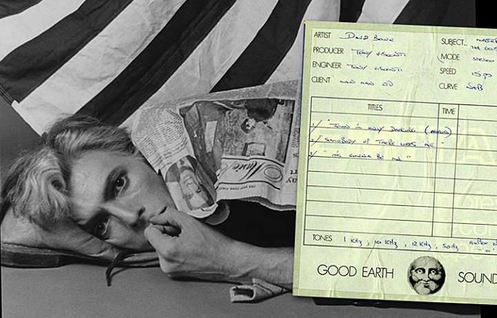 """La copertina di """"The Gouster"""", il disco di inediti di Bowie in uscita"""