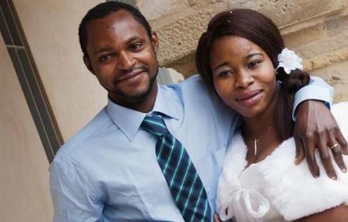 Emmanuel Chidi Namdi e la moglie Chinyery