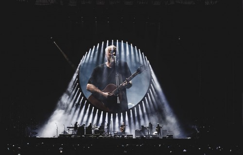 David Gilmour ha suonato a Pompei dopo il live al Circo Massimo di Roma. Foto: Giulia Razzauti