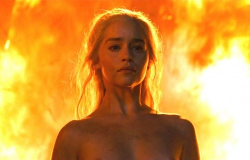"Daenerys Targaryen in un fotogramma di ""Game of Thrones 6"""