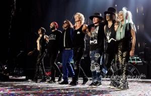 Guns N 'Roses, Toronto - Foto via Facebook