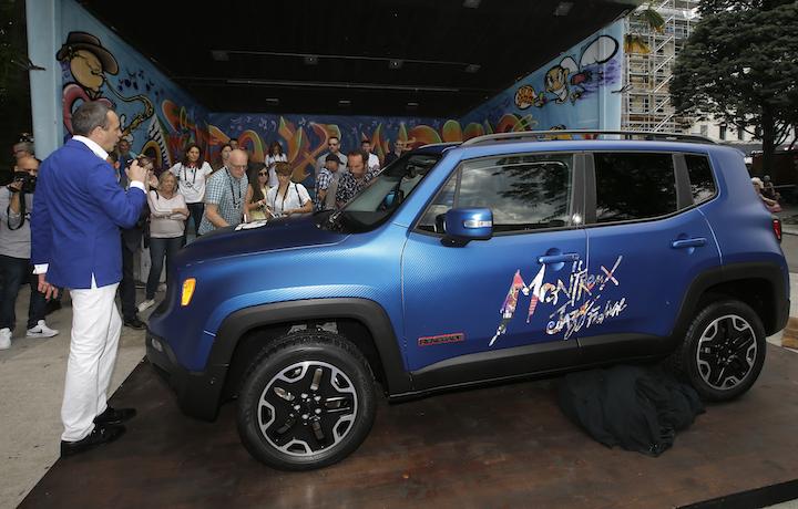 Jeep, le tre concept di Garage Italia Customs dedicate alla musica