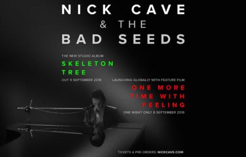 La locandina del nuovo film di Nick Cave
