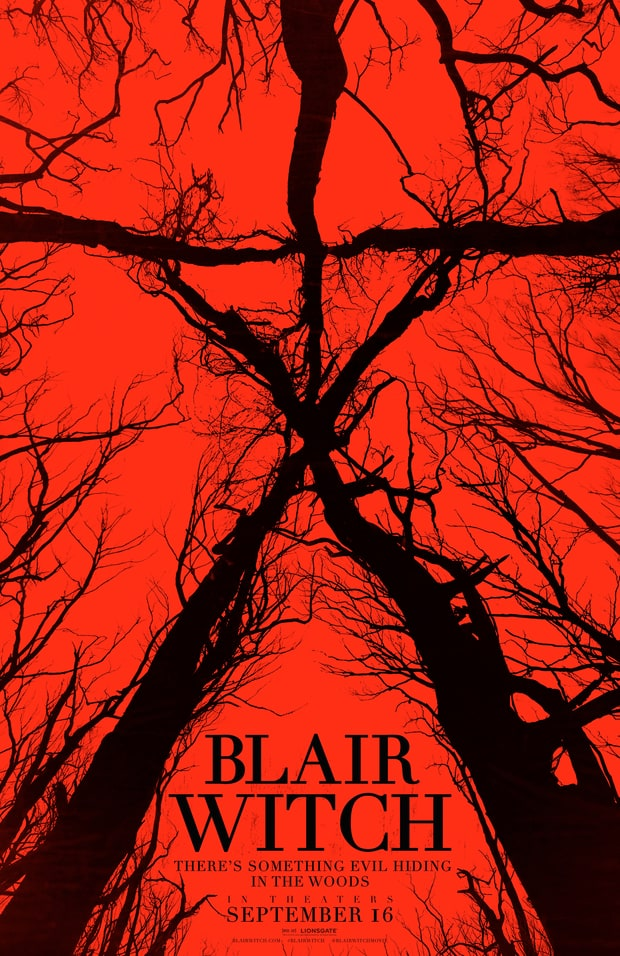 """Il poster ufficiale del nuovo """"Blair Witch"""""""