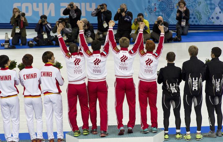 Il team nazionale russo è salito sul podio di Sochi 33 volte. Più di chiunque altro. Foto: Pawel Maryanov