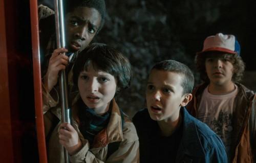 """Un'immagine della prima stagione di """"Stranger Things"""""""