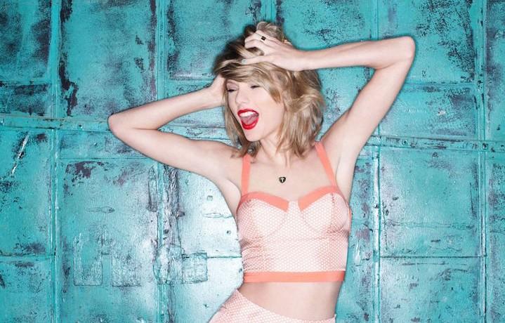 Taylor Swift è in testa alla Celeb 100
