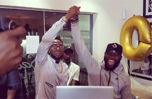 DJ Obi al termine del dj set. Foto: Instagram