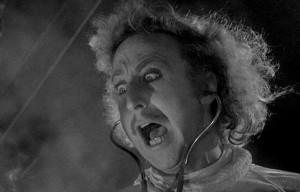 Gene Wilder in Frankenstein Junior