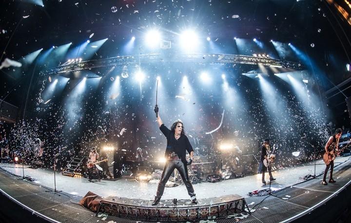 Alice Cooper sul palco del Wacken