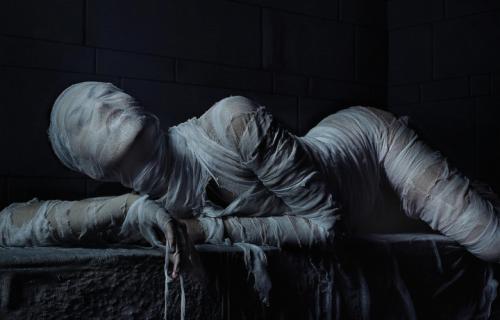 """Un dettaglio della locandina della sesta stagione di """"American Horror Story"""""""
