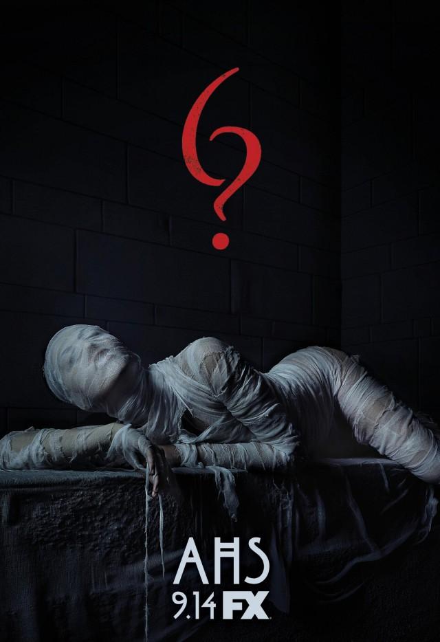 """La locandina della sesta stagione di """"American Horror Story"""" in arrivo il 14 settembre su FX"""