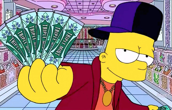 Bart Simpson Tornera A Vestire I Panni Del Rapper