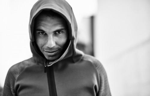 Rafa Nadal è nato il 3 giugno 1986 a Manacor. Qui indossa la felpa della Nike Tech Fleece Autumn 2016