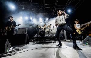 Le Savages sul palco dell'Ypsigrock. Foto Roberto Panucci