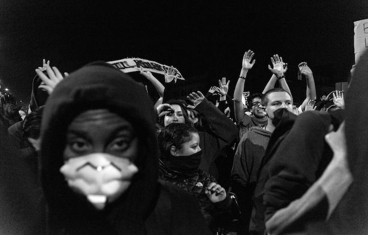 """Un'immagine delle proteste di """"Black Lives Matter"""". Foto: Annette Bernhardt"""