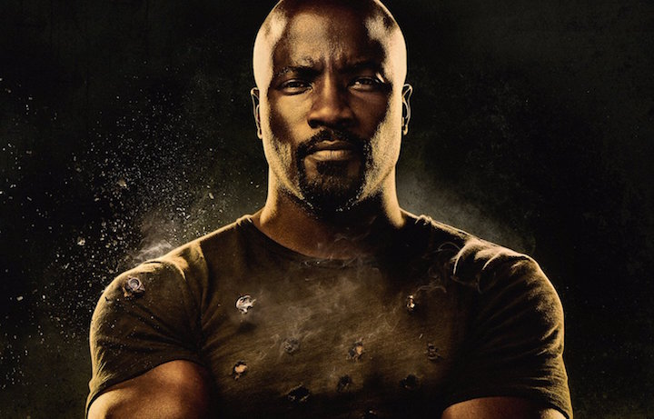 Immagine dalla locandina di Marvel's Luke Cage, la nuova serie di Netflix