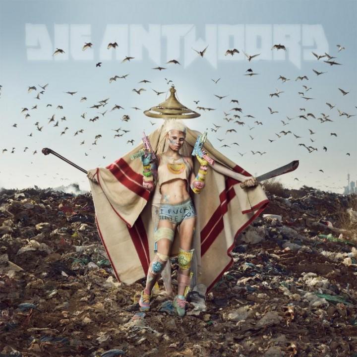 La copertina di Mount Ninji And Da Nice Time Kid, il nuovo disco dei Die Untwoord