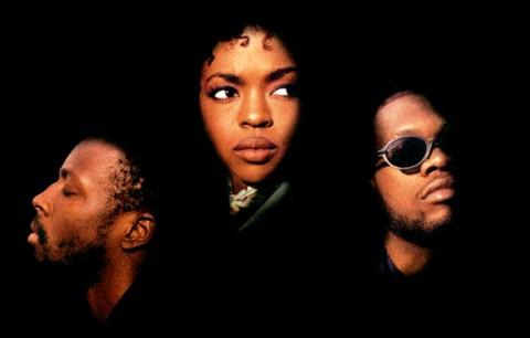 """Un dettaglio della copertina di """"The Score"""", il disco dei Fugees del 1996"""