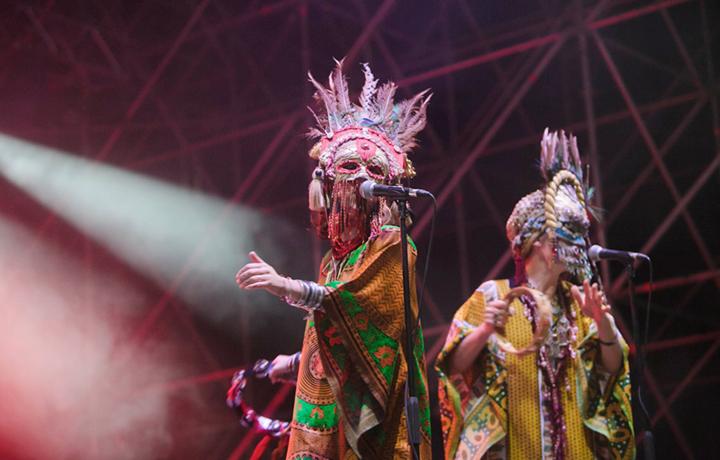 L'esibizione dei Goat al TOdays Festival 2016 - Foto Daniele Baldi