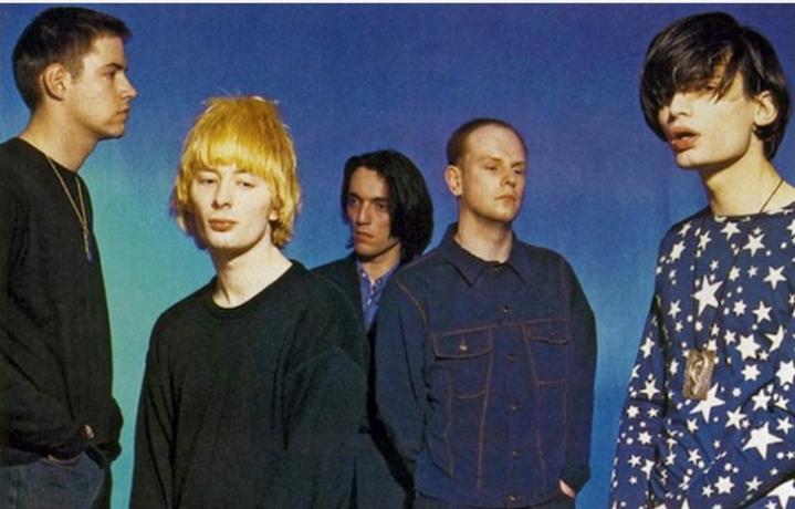 Radiohead. Foto: Stampa