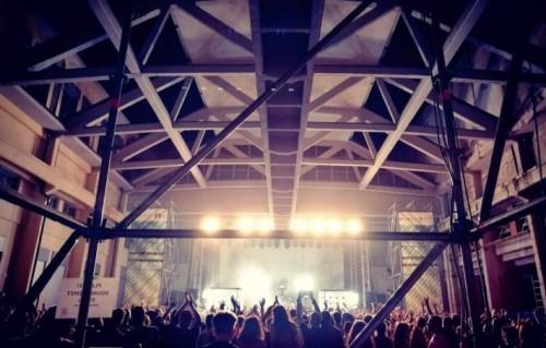 Il live dei Soulwax all'ex fabbrica INCET - Foto via Facebook