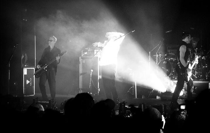 Bauhaus in concerto a Londra, 2006 - Foto di Pedro Figueiredo