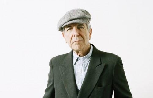 Leonard Cohen, foto Facebook