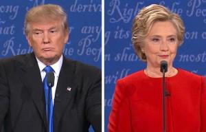 Donald Trump Hillary Clinton dibattito