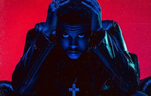 "La copertina di ""Starboy"" di The Weeknd"