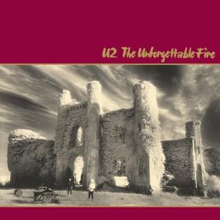 """La copertina di """"The Unforgettable Fire"""", il disco degli U2 uscito nel 1984"""
