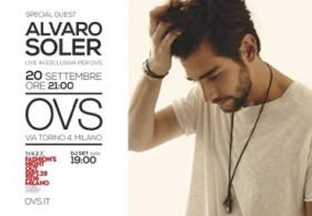 OVS ospiterà il live di Alvaro Soler