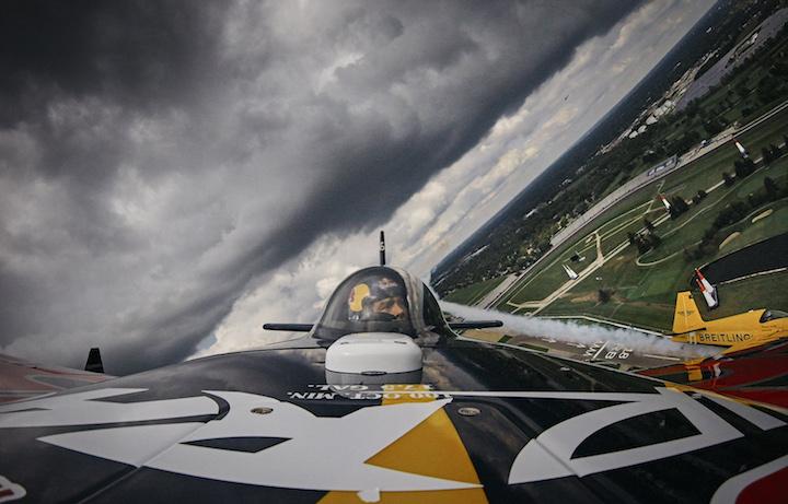Un'immagine aerea del circuito di Indianapolis