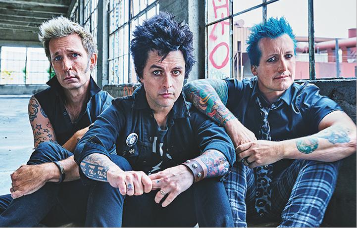 I Green Day sulla cover di Rolling Stone di ottobre 2016, foto di Mark Seliger