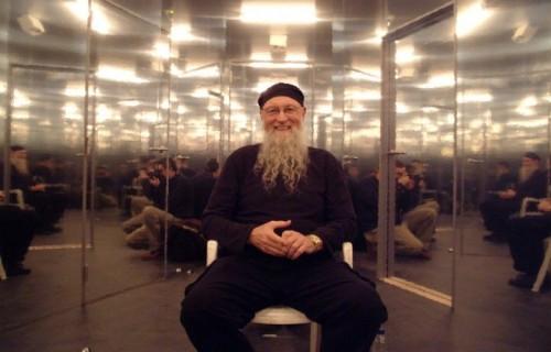 Un ritratto di Terry Riley prima del concerto di Lille del 2004
