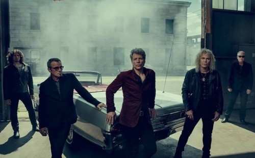 Bon Jovi - Foto via Facebook