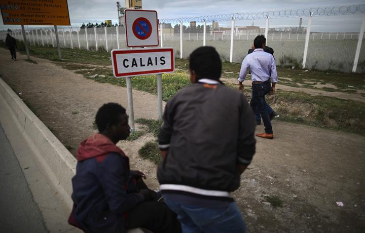Calais, Francia. Foto Christopher Furlong/Getty Images