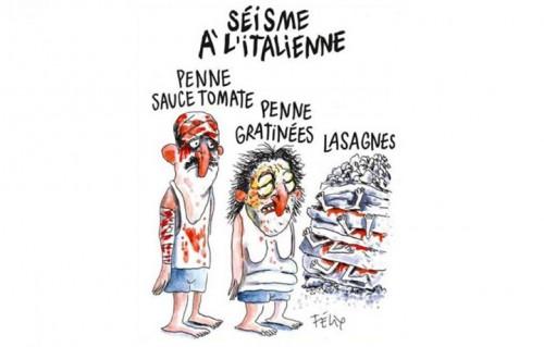 Charlie Hebdo, la vignetta uscita il 31 agosto scorso sull'ultimo numero del giornale satirico