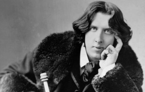 Un ritratto di Oscar Wilde - Foto Stampa