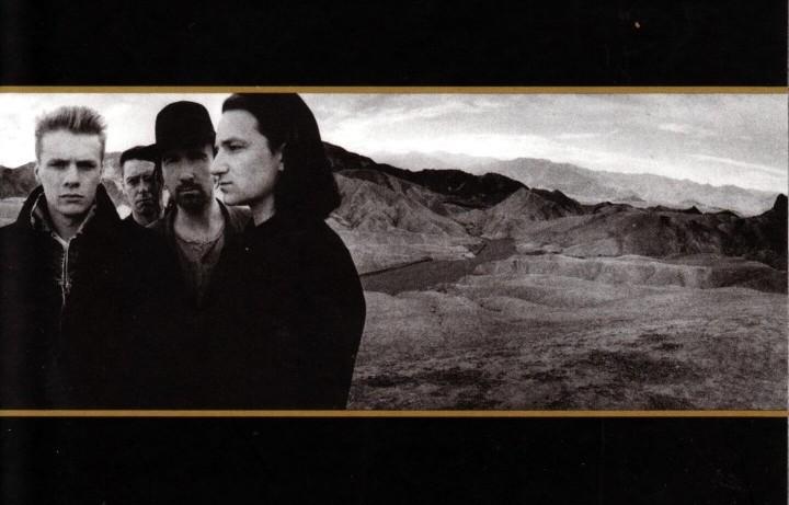 """Un dettaglio del quinto album degli U2: """"The Joshua Tree"""" (1987)"""