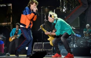 I Rolling Stones al Desert Trip Festiva. Foto di Kevin Mazur