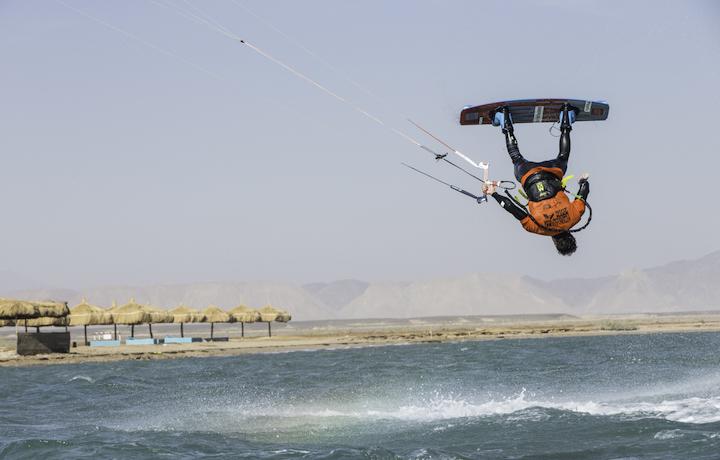 I grandi nomi del kite maschile e femminile in gara a Porto Pollo