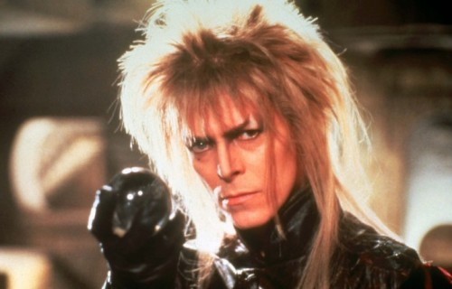 "David Bowie nei panni di Jareth in ""Labyrinth - Dove tutto è possibile"""