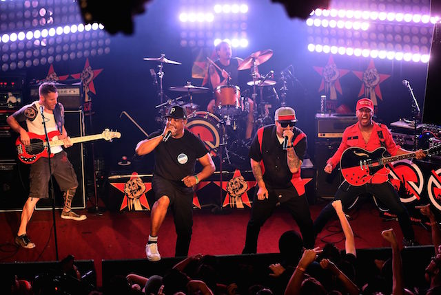 Prophets Of Rage al The Whisky a Go Go di Hollywood, foto Kevin Winter/Getty Images