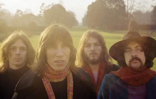 I Pink Floyd nel 1969, foto via Facebook