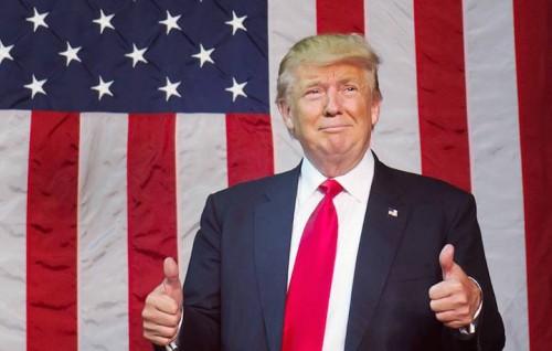 Donald Trump foto via Facebook