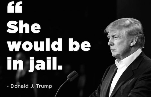 Immagine riportata dalla pagina Facebook ufficiale di Trump