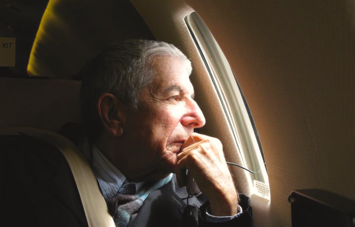 Leonard Cohen, foto via Facebook
