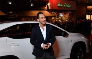 """Jude Law durante l'evento """"The Life RX Live"""", per celebrare il lancio della nuova Lexus RX a Londra"""