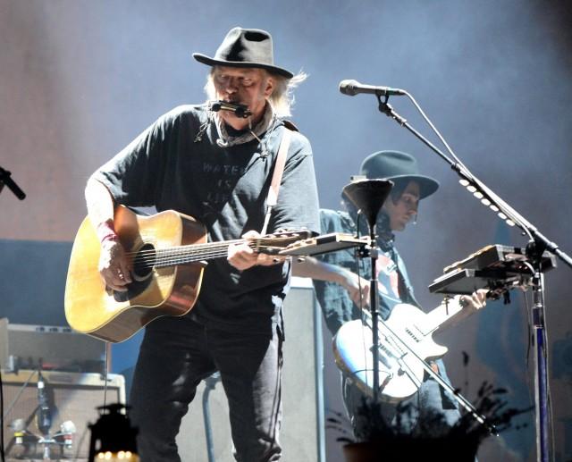 Neil Young al Desert Trip Desert Trip 2016 - Foto Via Facebook